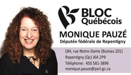 Député Monique Pauzé