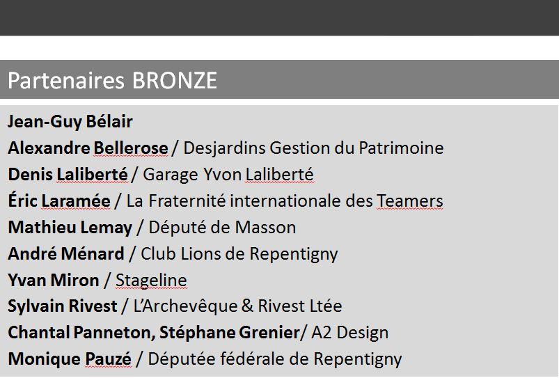 Spectacle 2017 - Partenaire Bronze